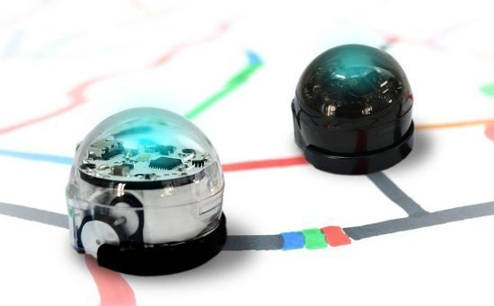 Ozobot learns to program in Blockly