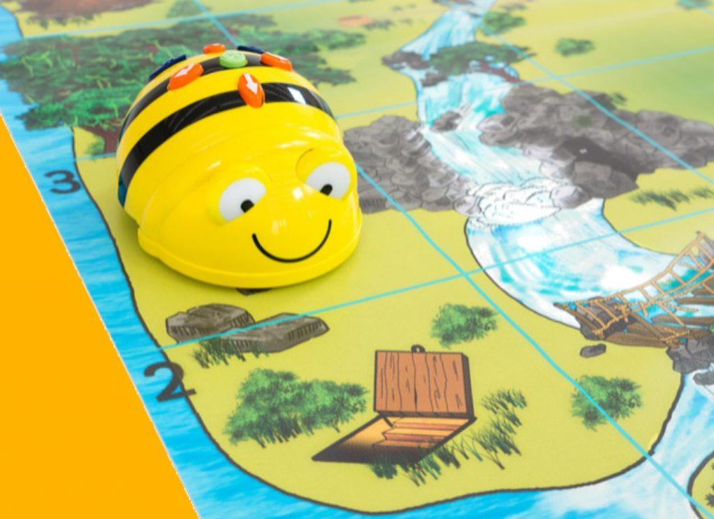 Beebot op mat