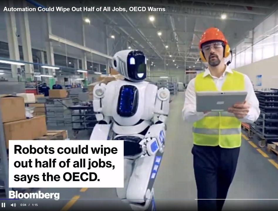 Robot automatisering kost banen